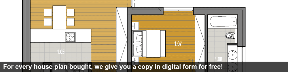 You will get your construction drawings also in the digital form