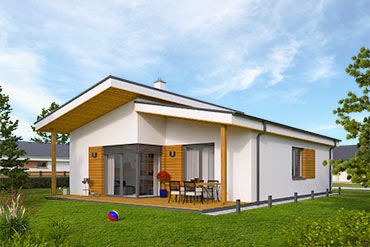 House plans of bungalow i86