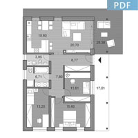 House i95 - Floor plan in pdf