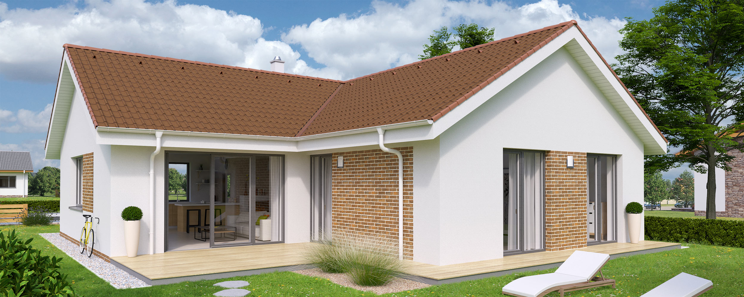 Plans of Bungalow L120