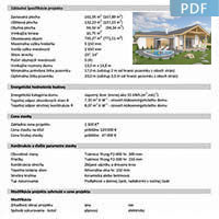 House plan L135 - More information