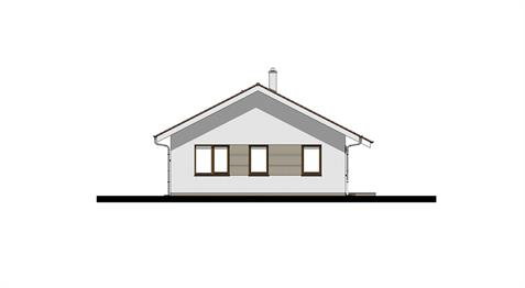 Bungalow i102 - Front elevation