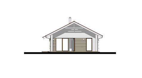 Bungalow i102 - Back elevation