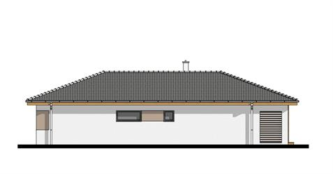 Bungalow i105 - Right elevation