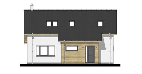 Family House i2-124 - Front elevation