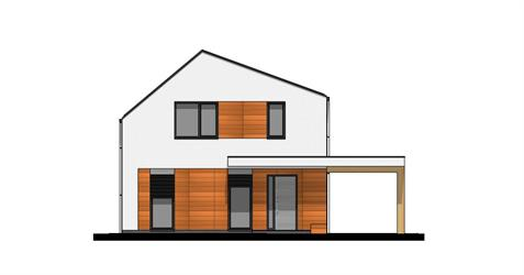 Family House i2-140 - Front elevation