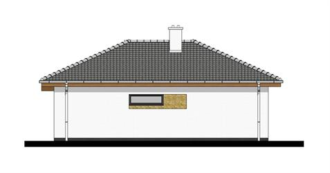 Bungalow i65 - Right elevation