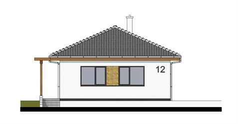Bungalow i65 - Front elevation