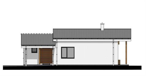Bungalow i86 - Right elevation