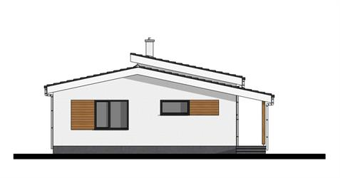 Bungalow i86 - Front elevation