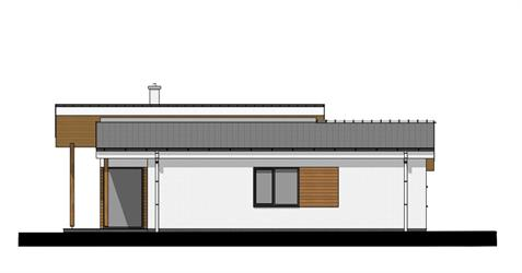 Bungalow i86 - Left elevation