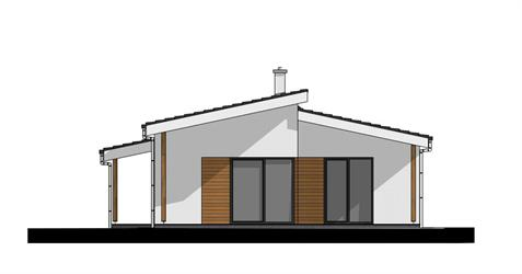 Bungalow i86 - Back elevation