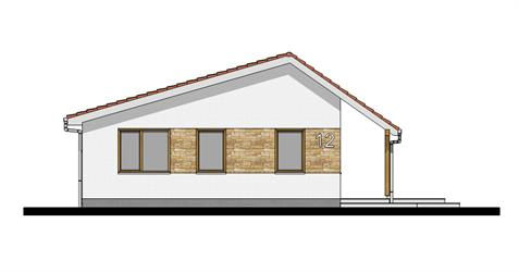 Bungalow i95 - Front elevation