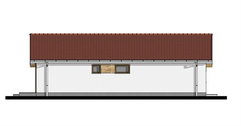 Bungalow i95 - Left elevation