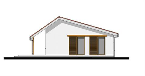 Bungalow i95 - Back elevation