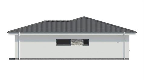 Bungalow L110 - Right elevation