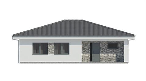 Bungalow L110 - Front elevation