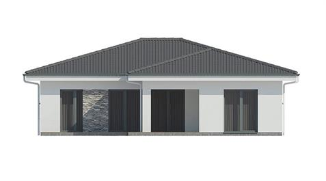 Bungalow L110 - Back elevation