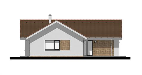 Bungalow L120 - Right elevation