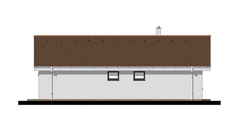 Bungalow L120 - Left elevation