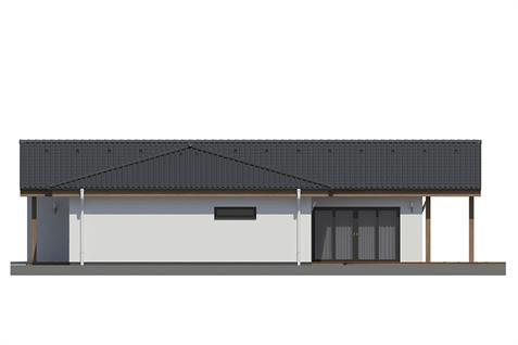 Bungalow L135 - Right elevation