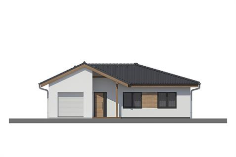 Bungalow L135 - Front elevation