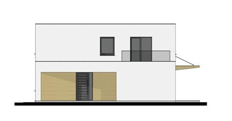 Family House L2-145 - Right elevation