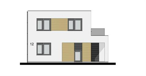 Family House L2-145 - Front elevation
