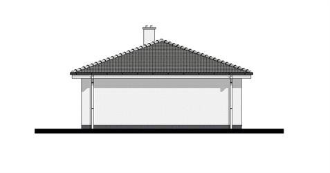 Bungalow O100 - Right elevation