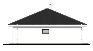 Bungalow O107 - Right elevation