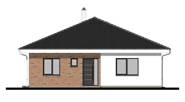 Bungalow O107 - Front elevation