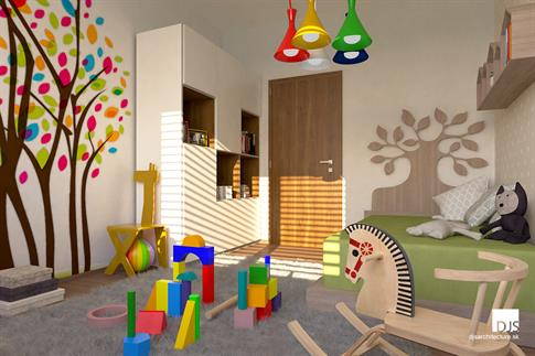 House plan - O110 - Child's room