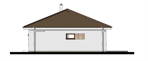 Bungalow O110 - Right elevation