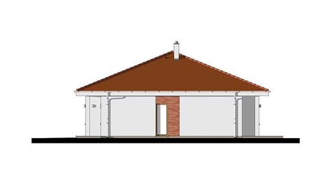 Bungalow O130 - Right elevation