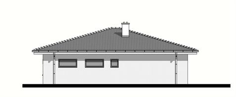 Bungalow O135 - Right elevation