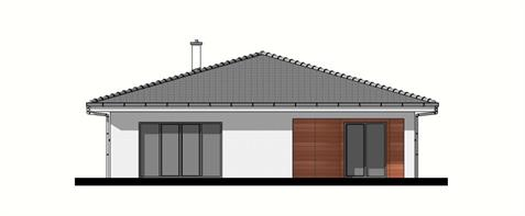 Bungalow O135 - Back elevation