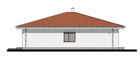 Bungalow O140 - Right elevation