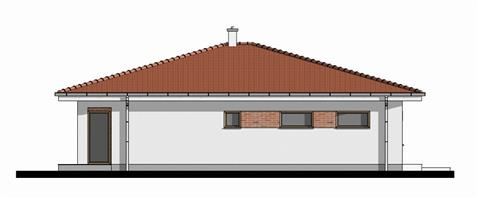 Bungalow O140 - Left elevation