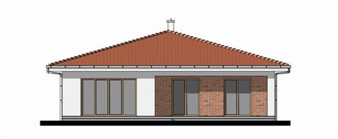Bungalow O140 - Back elevation