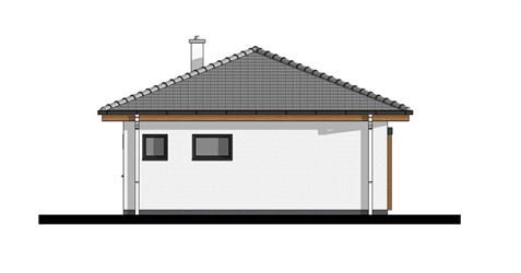 Bungalow O50 - Right elevation