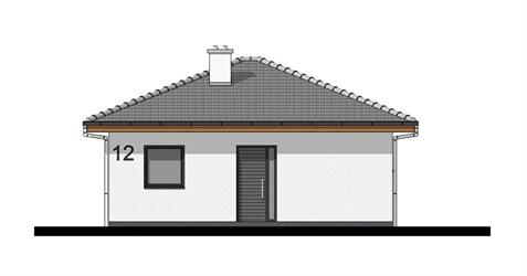Bungalow O50 - Front elevation