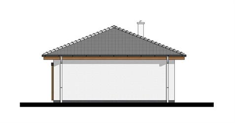 Bungalow O50 - Left elevation