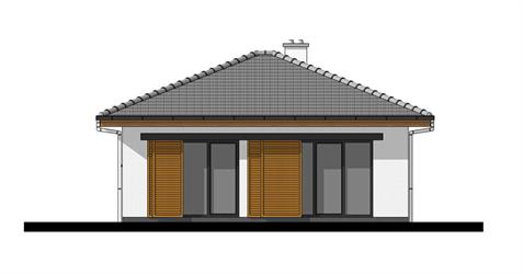 Bungalow O50 - Back elevation