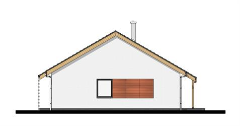 Bungalow O80 - Right elevation