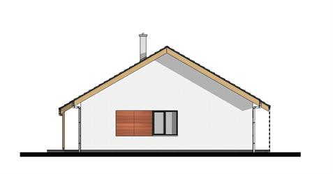 Bungalow O80 - Left elevation