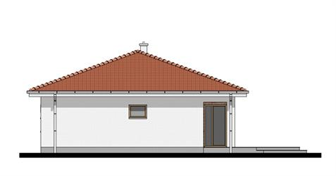 Bungalow O85 - Right elevation