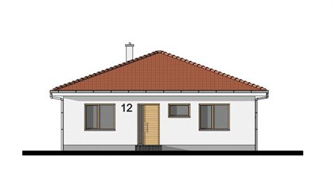 Bungalow O85 - Front elevation
