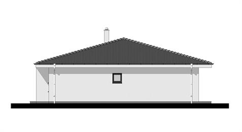 Bungalow O120 - Right elevation