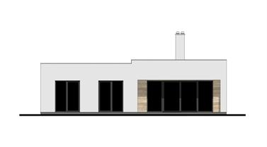 Bungalow O120P - Back elevation